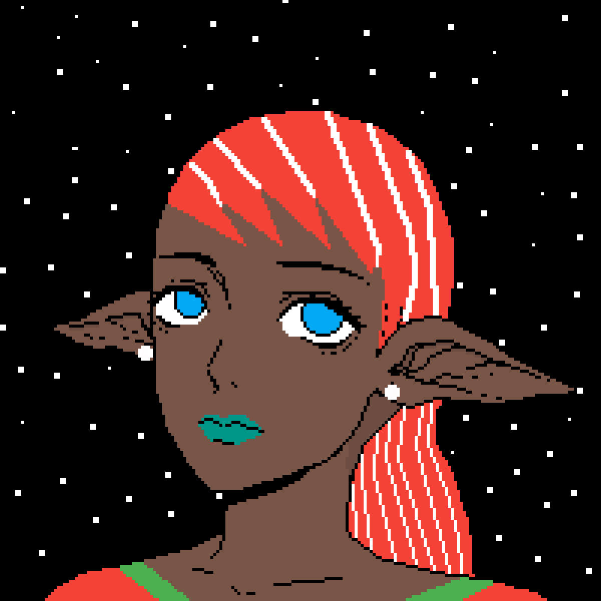 Elf. [Credit to Tsiox} by lillepa72