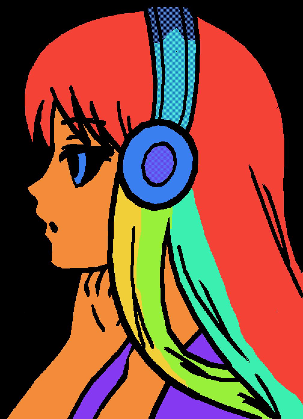 Rainbow Woman by JilltehNerd