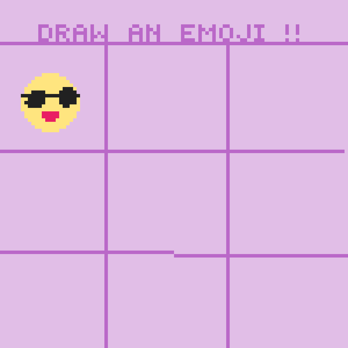 Draw an emoji by JulezRulz