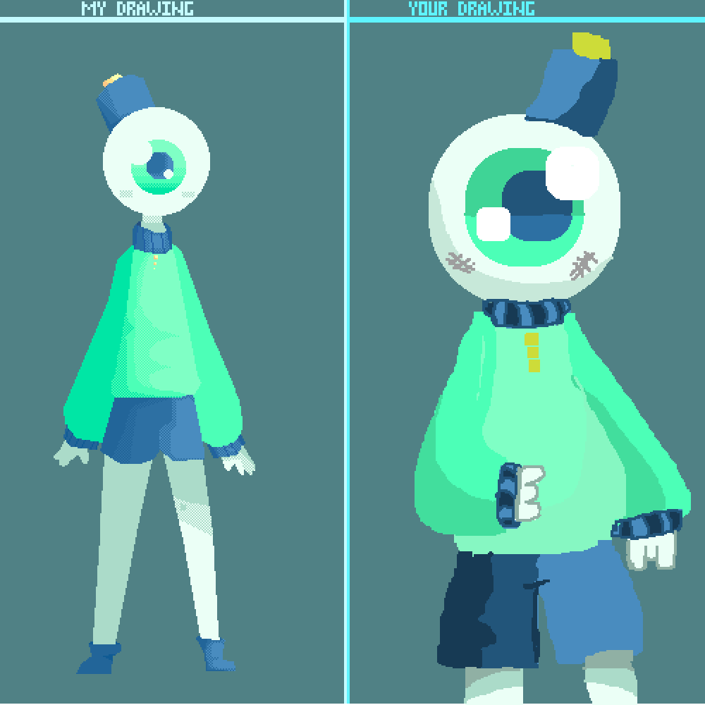main-image-My Version of Mint's character  by FatherDitto
