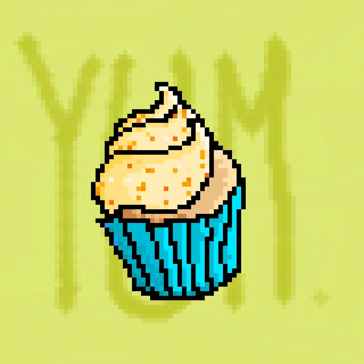 Yum, cupcake! I wanna eat ya'!  by snappyjaw