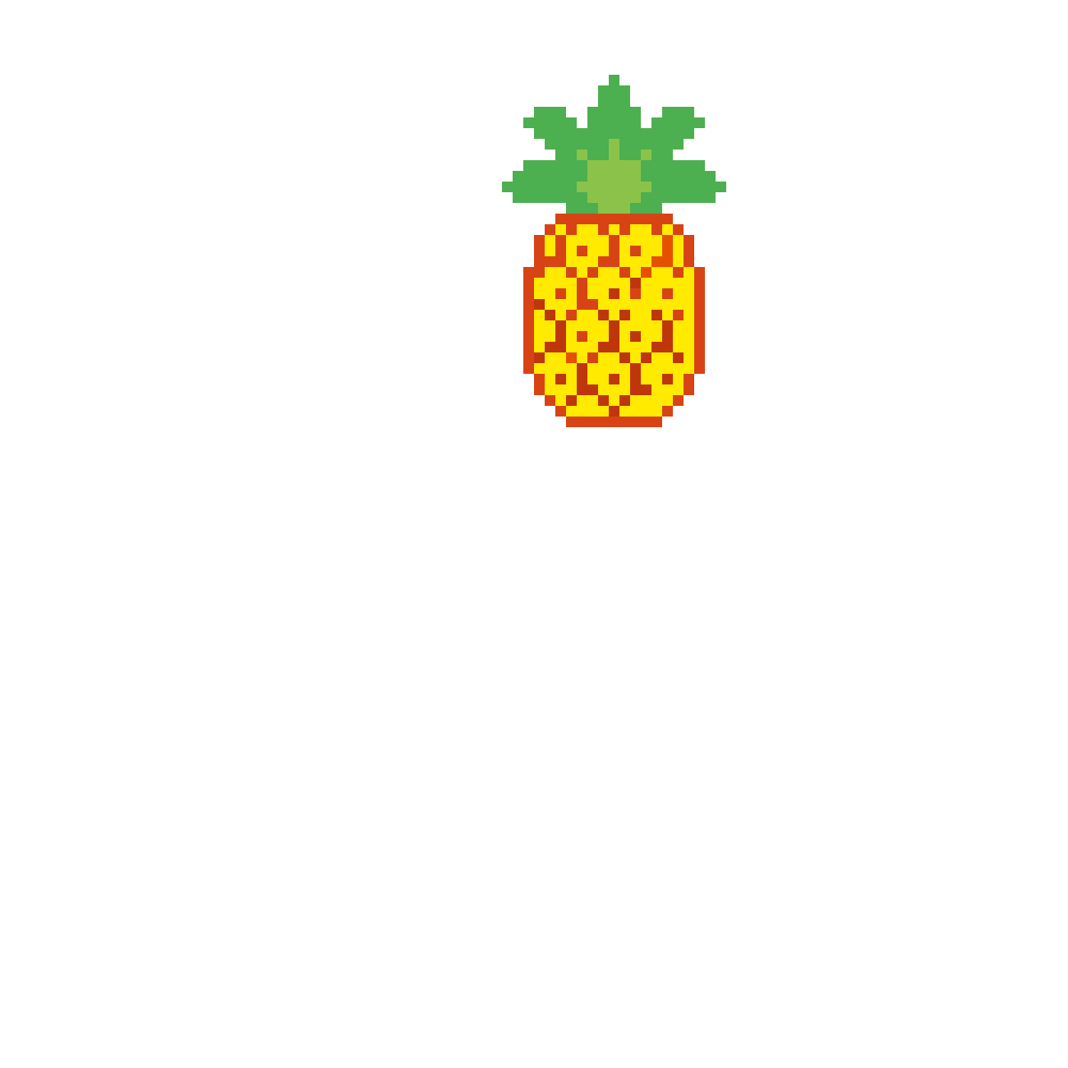 Pixilart Pixel Pineapple By Anonymous