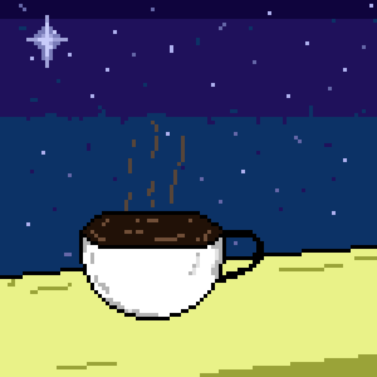 A coffee for hazy thoughts by Hefesto4125