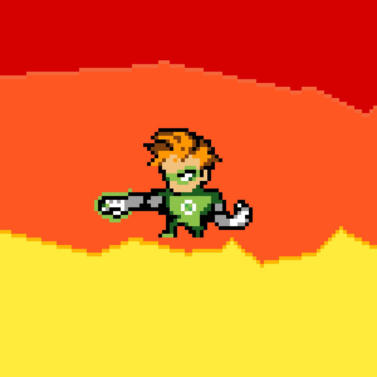 Green Lantern by PixilPug