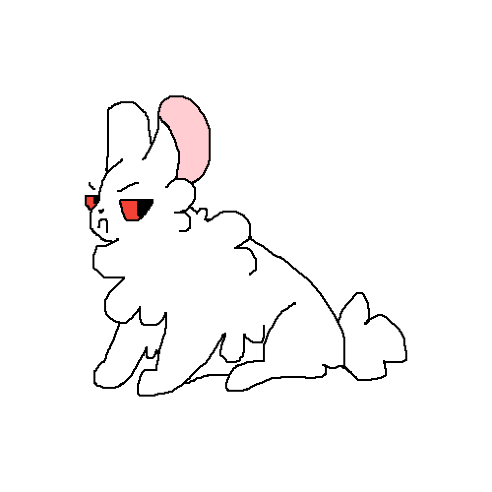 An angry bunny by Sparkblaze