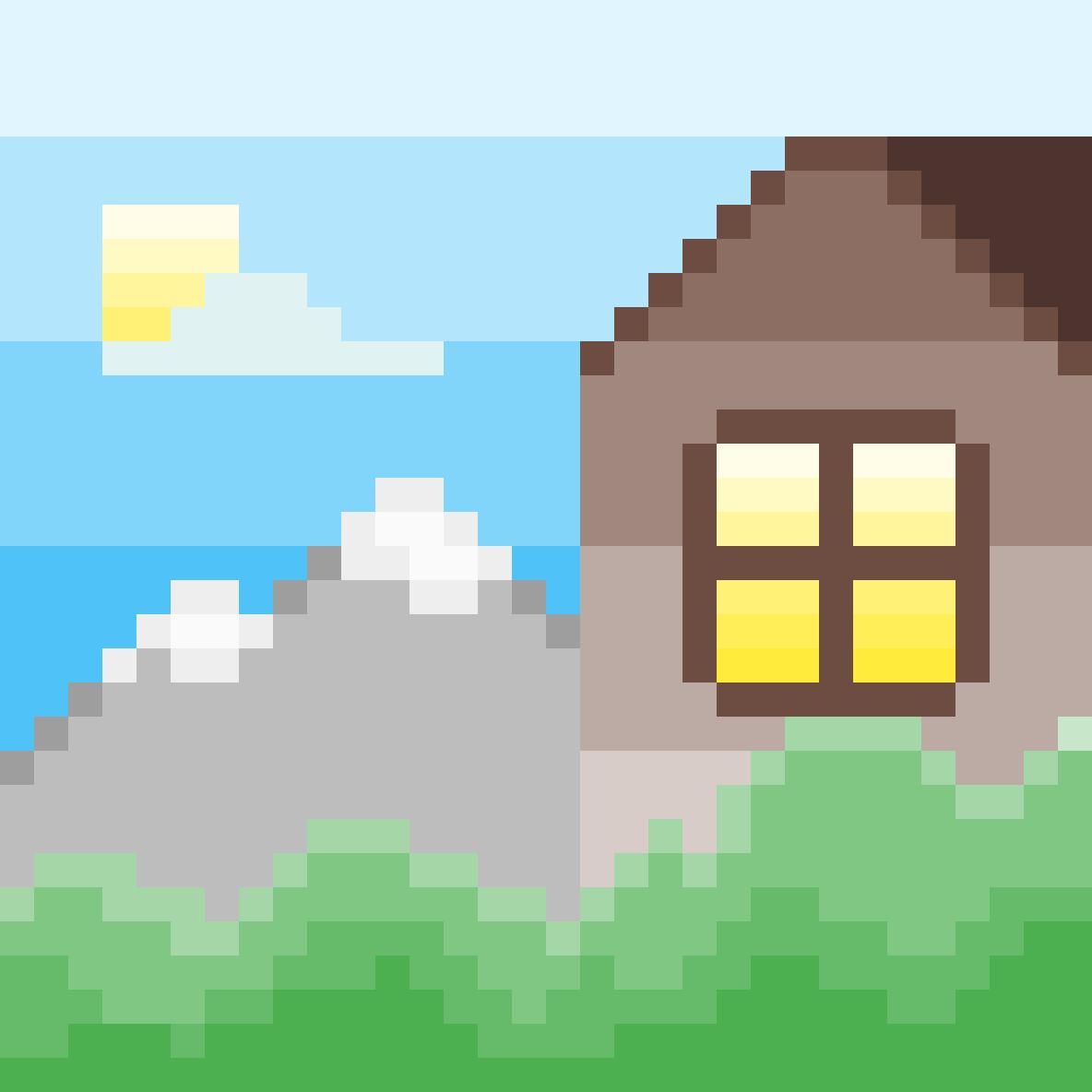 Mountain home by MorbidPanda
