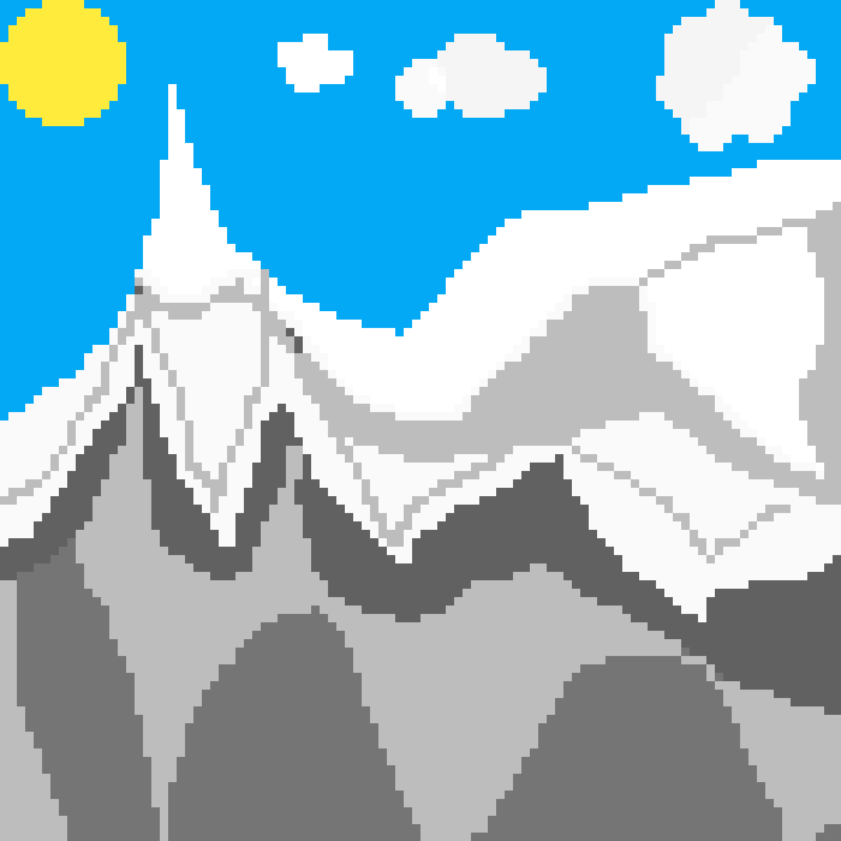 A Mountain  by Cendra
