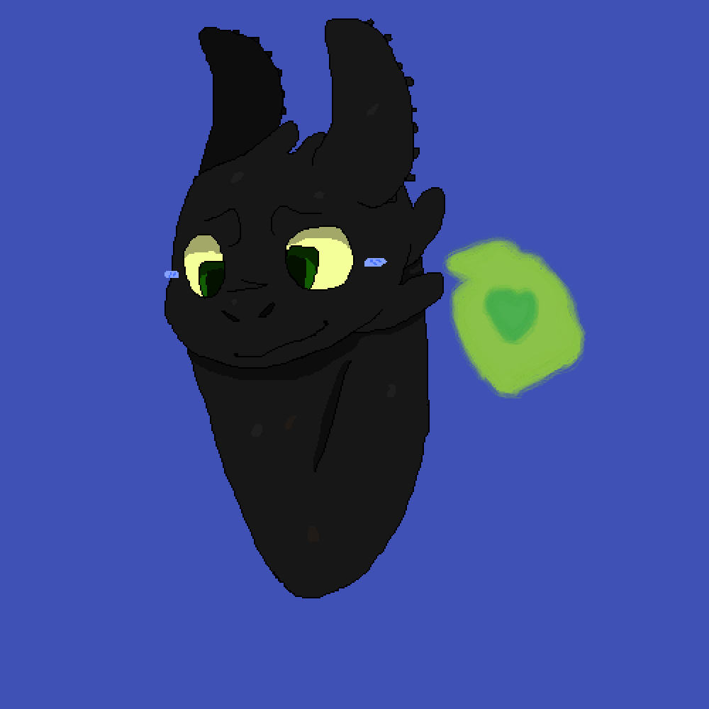 Toothless by Foxy2409