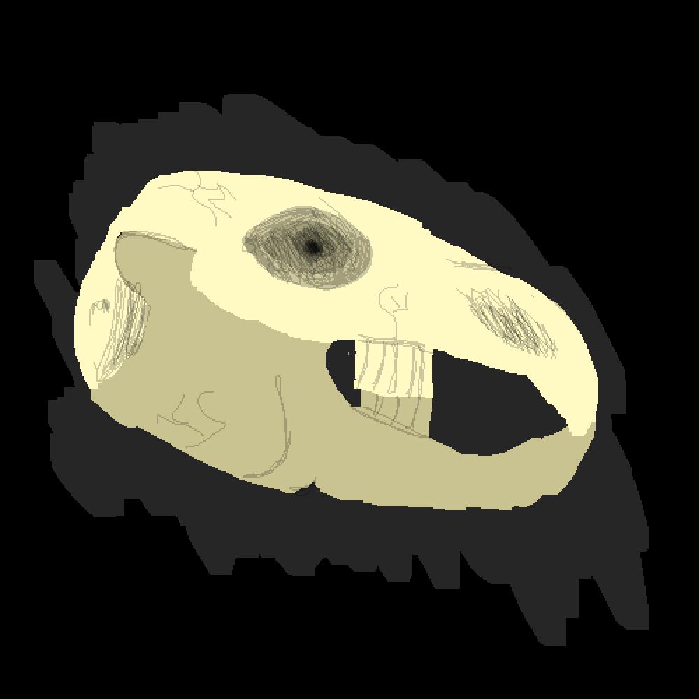 main-image-Rabbit skull  by Llama-Queen