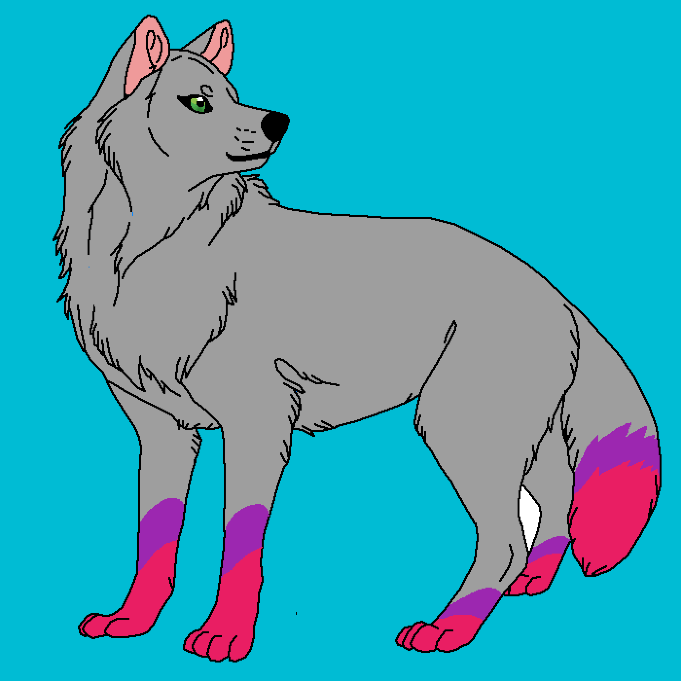 main-image-wolf for my real dad   by sammykitten2003