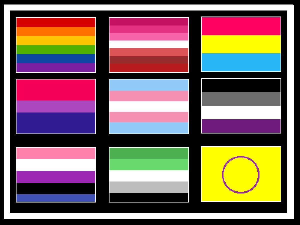 Pride Flags boi by Road-Work-Ahead