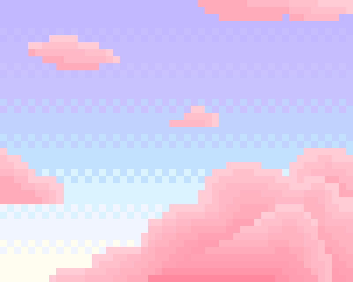 Pink Clouds by Floof