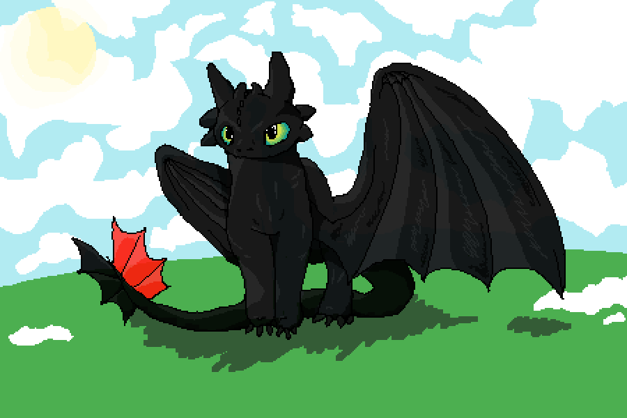 main-image-Toothless  by JustAFlounder