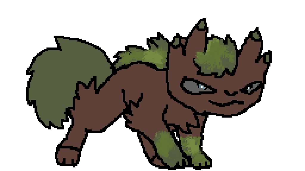 What Have I made? Is THis a grass pokemon? by catpop2