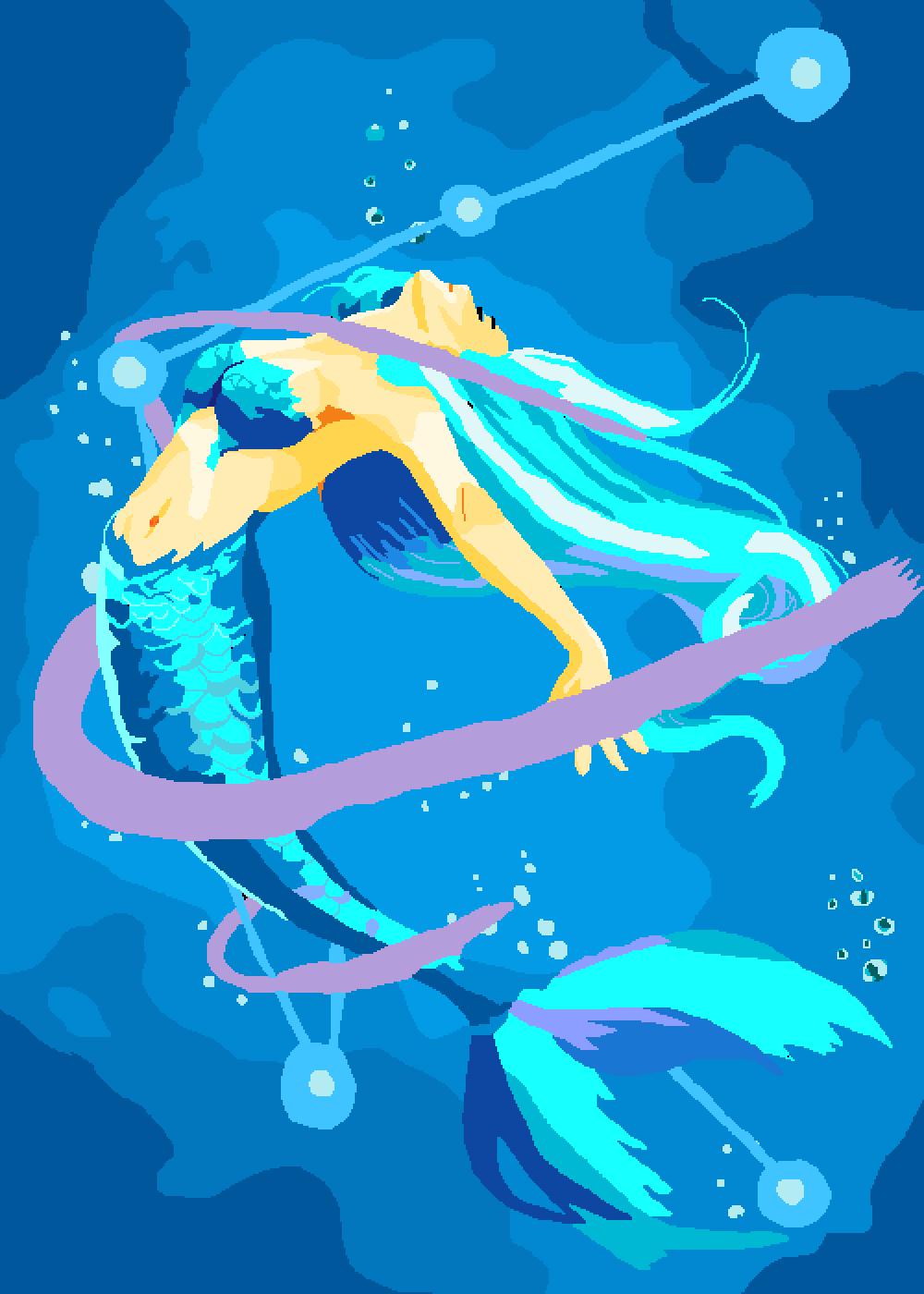 Mermaid by Dragonsongbird