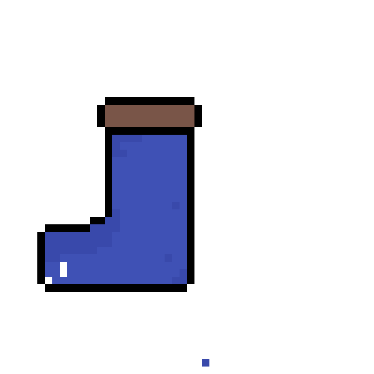 blue boot by squally-tuba