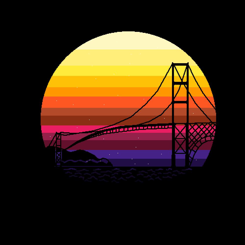 San Francisco Among The Stars by Sketchboy123