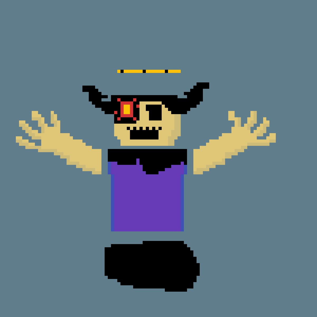 Roblox Bendy Rp Pixilart Cross Pixel Art By Nooby