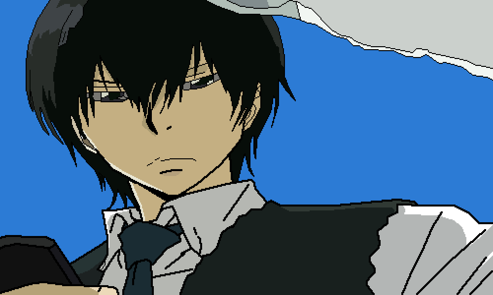 Hibari Kyoya Without Hibird by Artemis