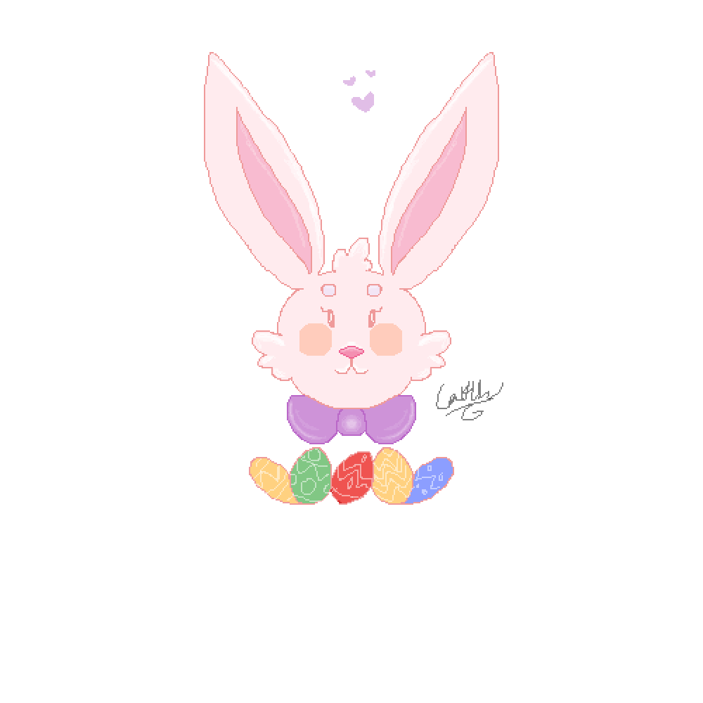 Easter bunny by KaiiKaiiz