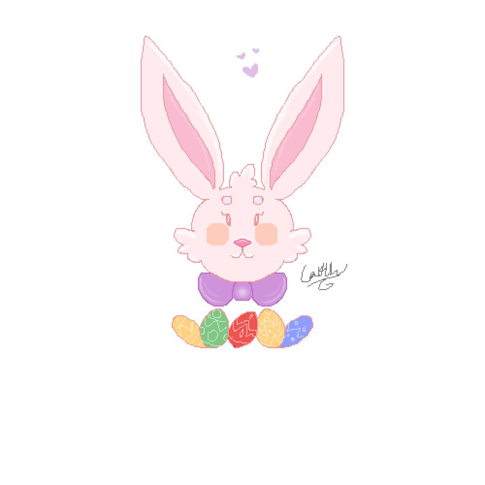 Easter bunny by KaiiKaiiz