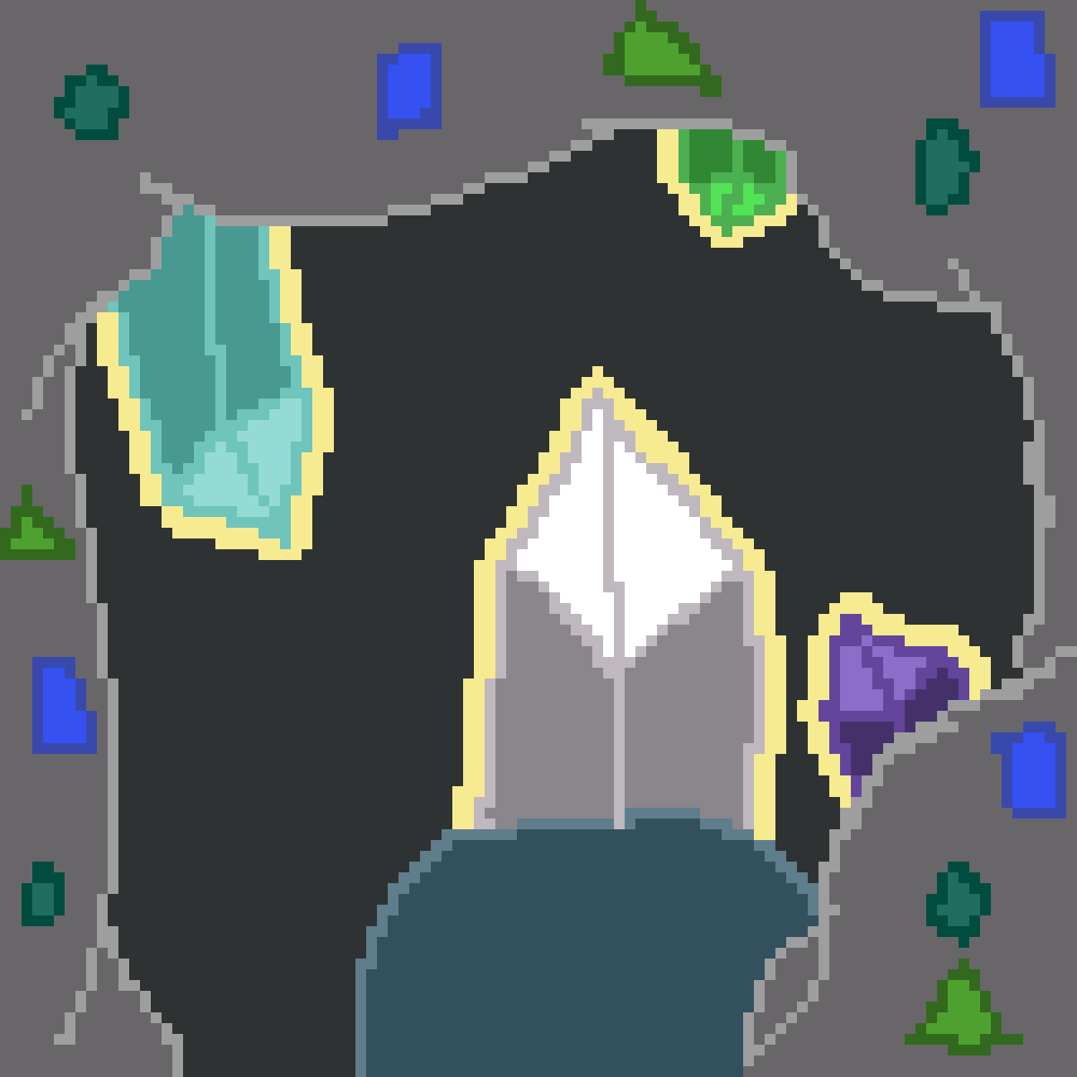 crystal cave by Muffin-Thief