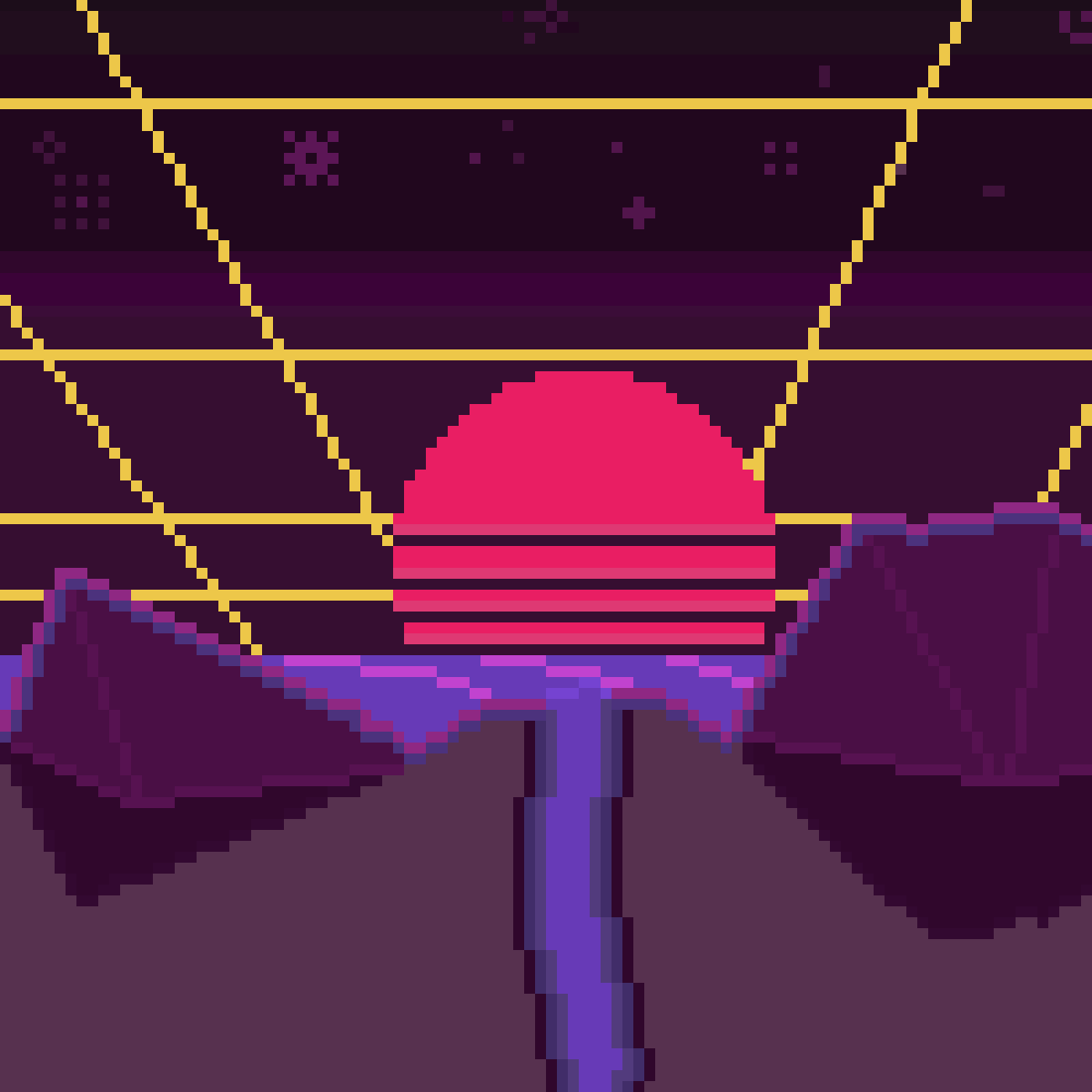 '80 Neon Bitset