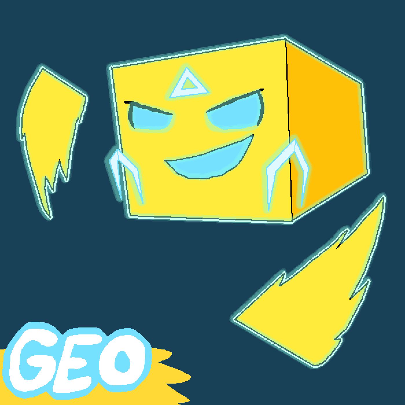 Geo! - Art Attack by Dopey-Dragonite