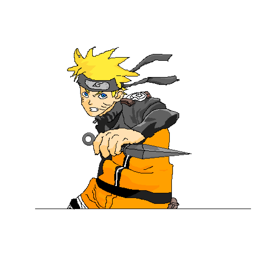 naruto  by Cometbot77