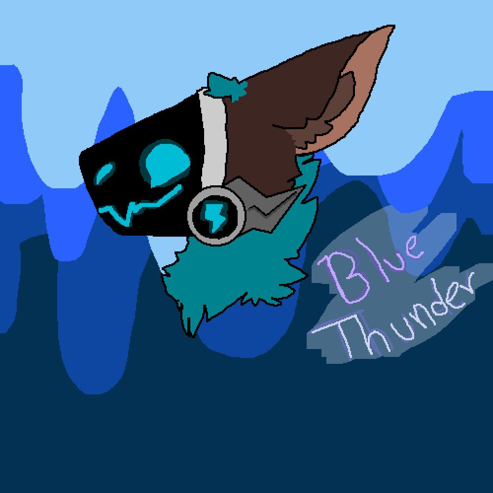 Blue Thunder the Protogen!