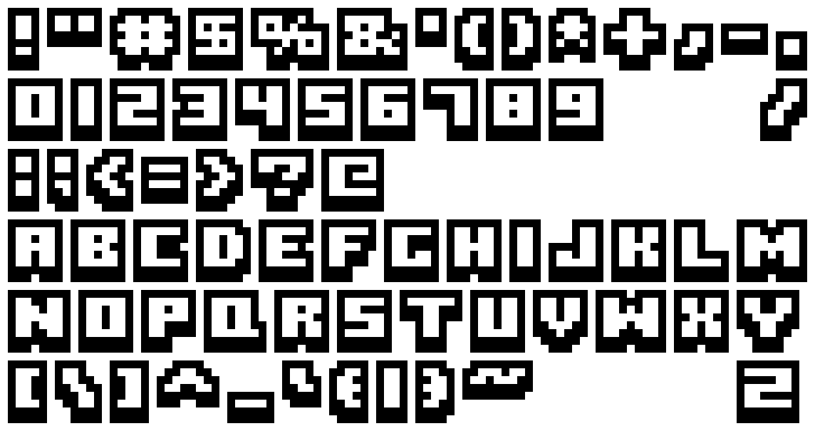 font by BluBerry