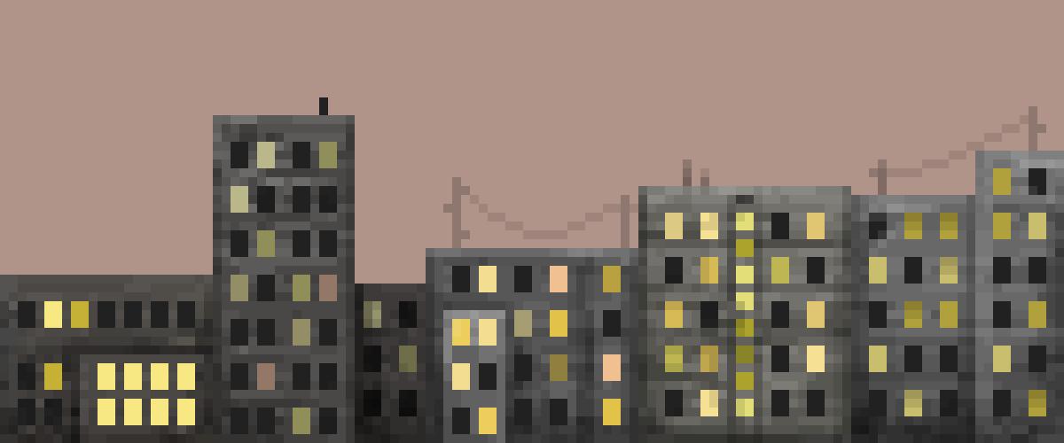 lunar city by Charly-Fox