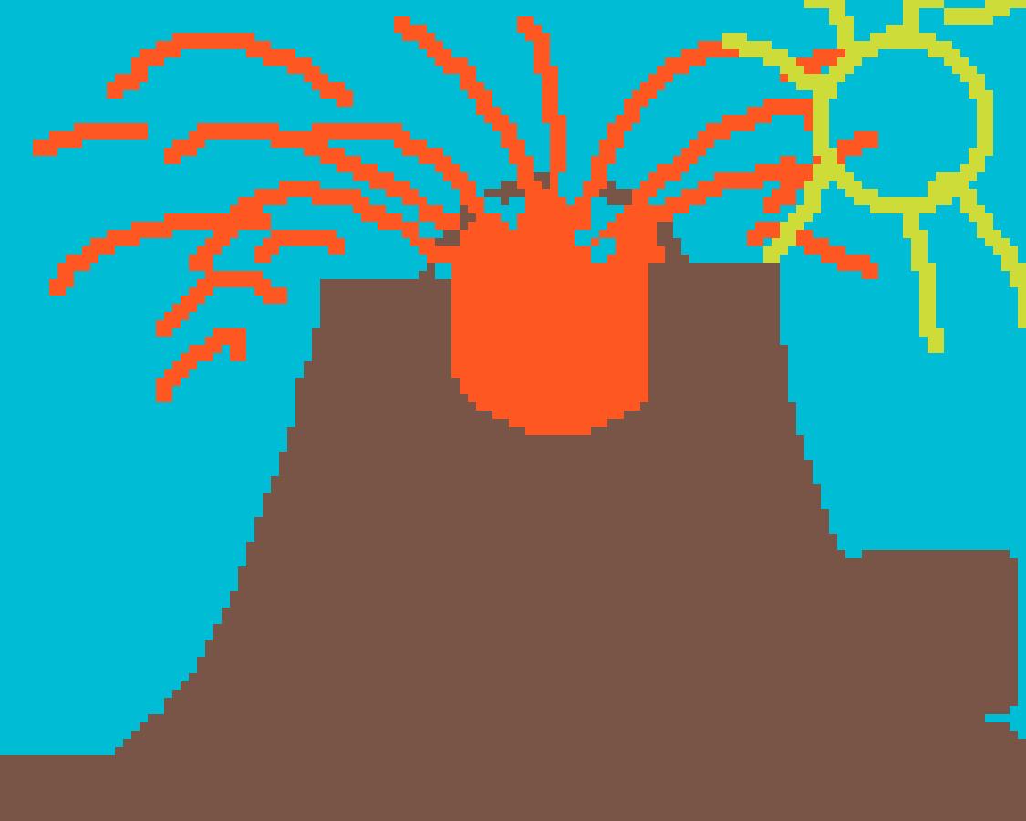 Volcano by JTG