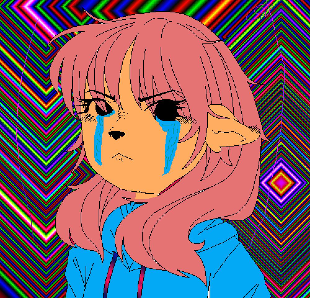 Pixilart Bunnyradbie Roblox Crying Haha By Anonymous