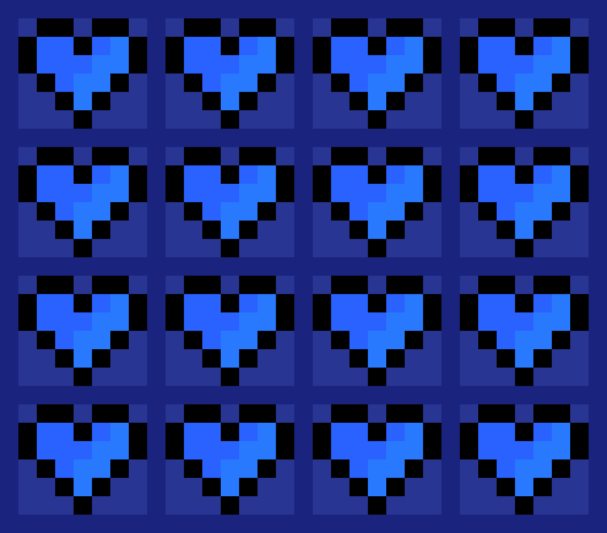 Blue Hearts by AceEverwoode