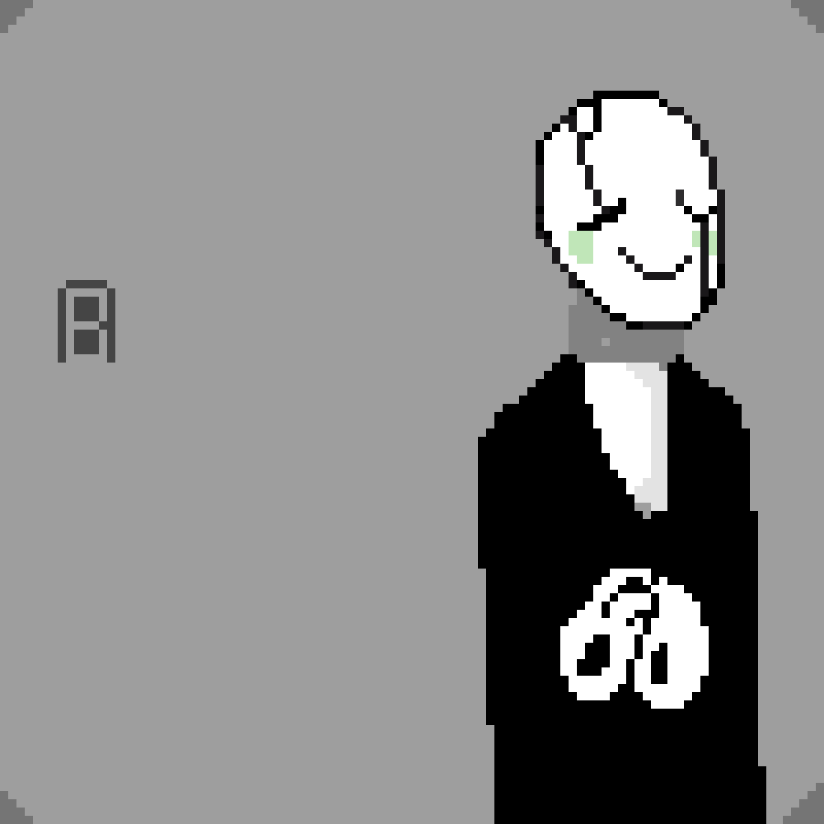 Gaster: The Man Who Speaks Happily by Undertale-lover
