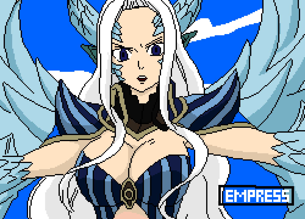 Pixilart Mirajane Strauss Halphas Form By Bakaesook Our goal is for newgrounds to be ad free for everyone! pixilart mirajane strauss halphas