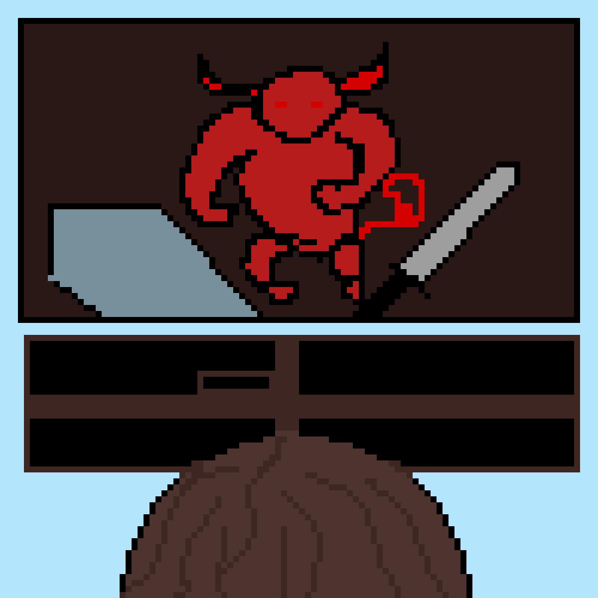 Knight vs Demon game