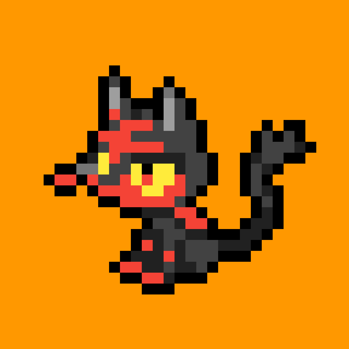 Litten by SilverTheKitty