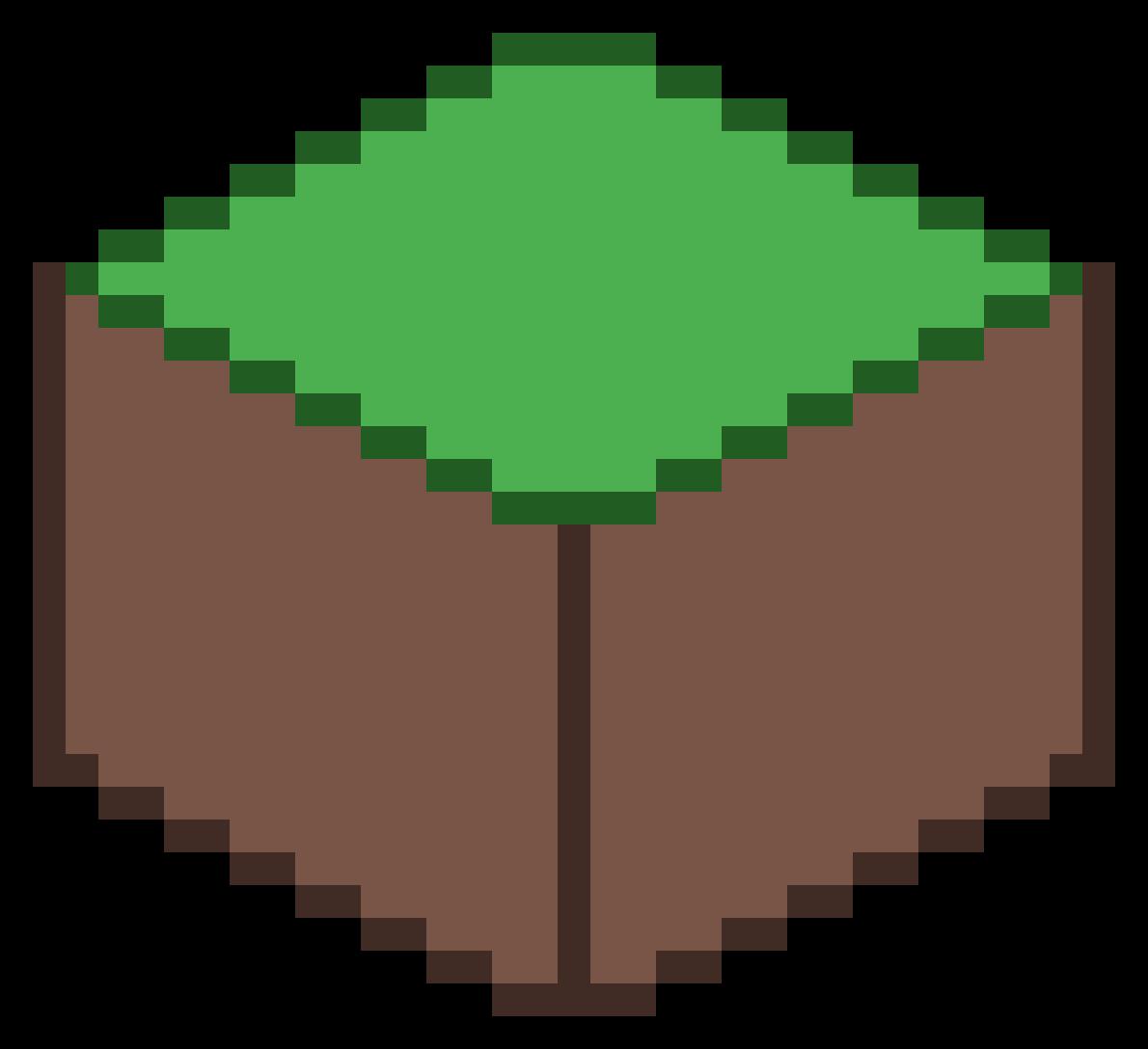Minecraft Grass by BloopPopper