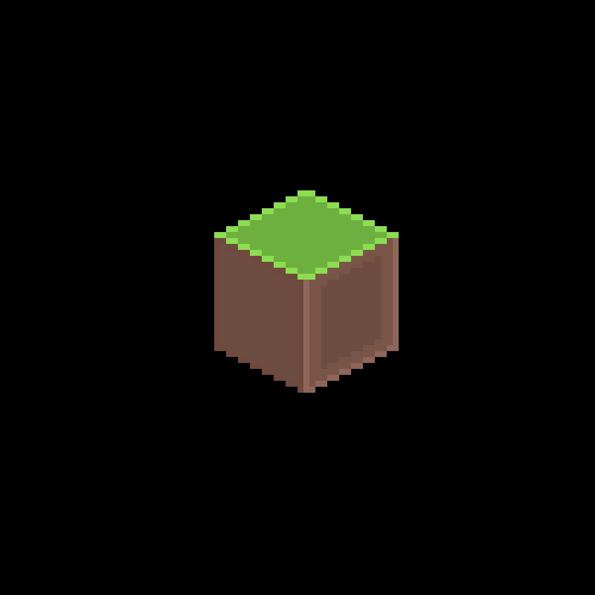 ugly minecraft block by Sherlockx7