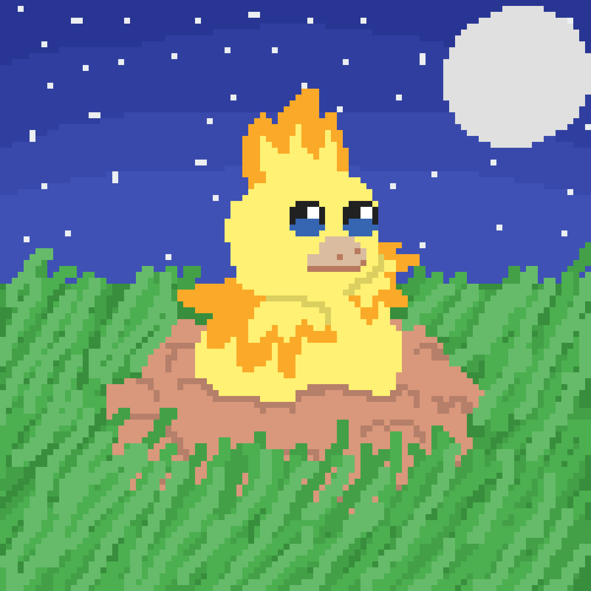 A shiny torchic by LemonCookies