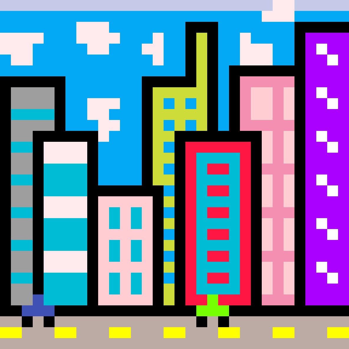 City by PixelatedBob