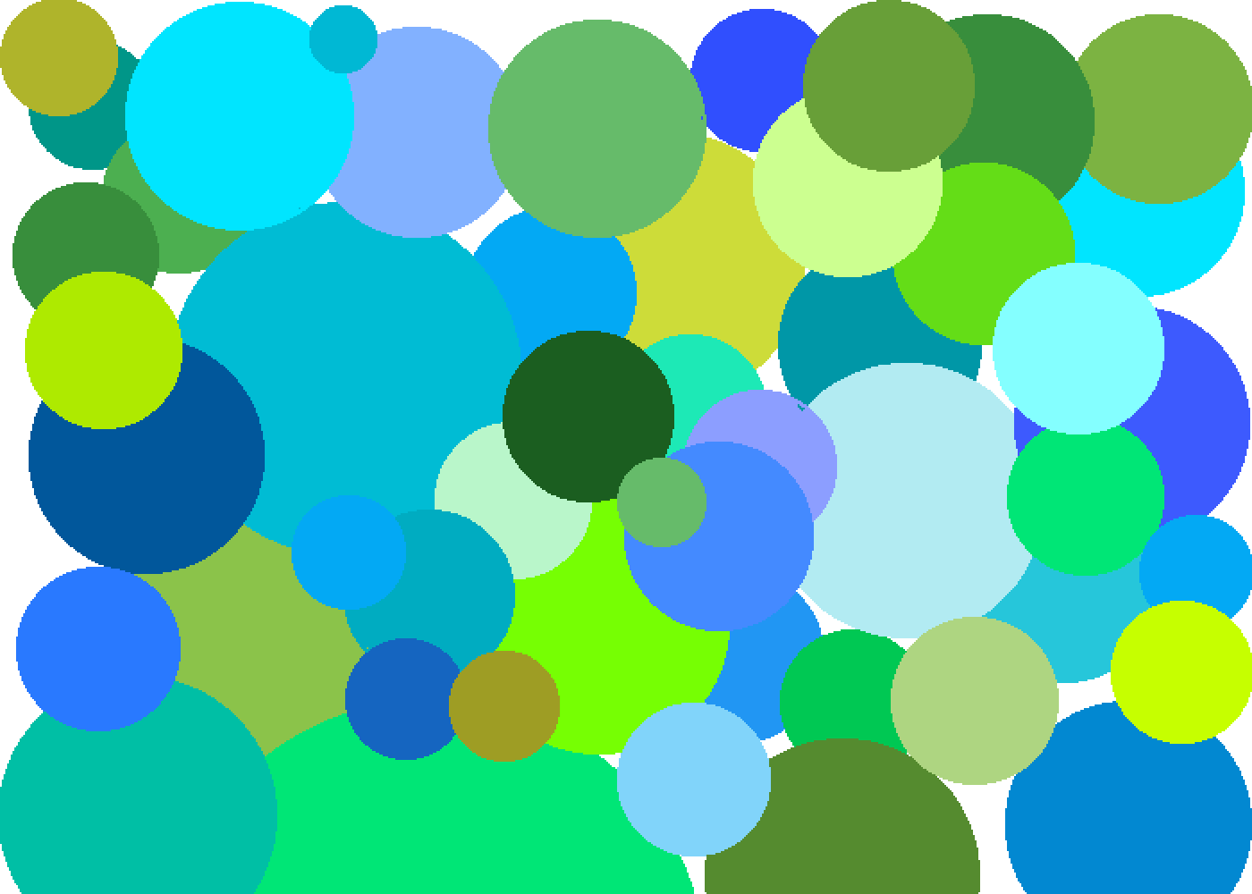 Blue and Green by NoobsDotcom
