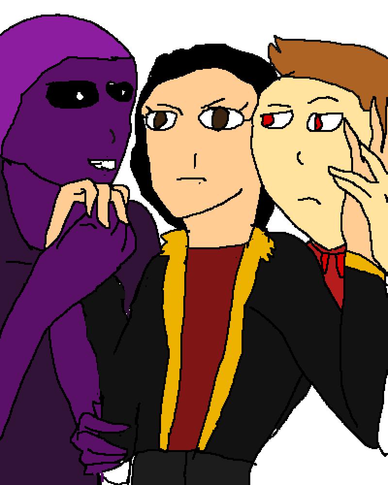 purple vs tord by sans-sans-jack