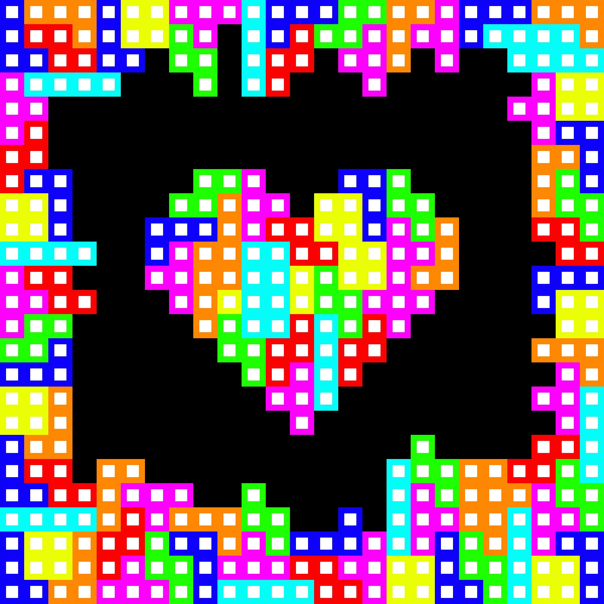 The Heart of Tetris by BullzEye731