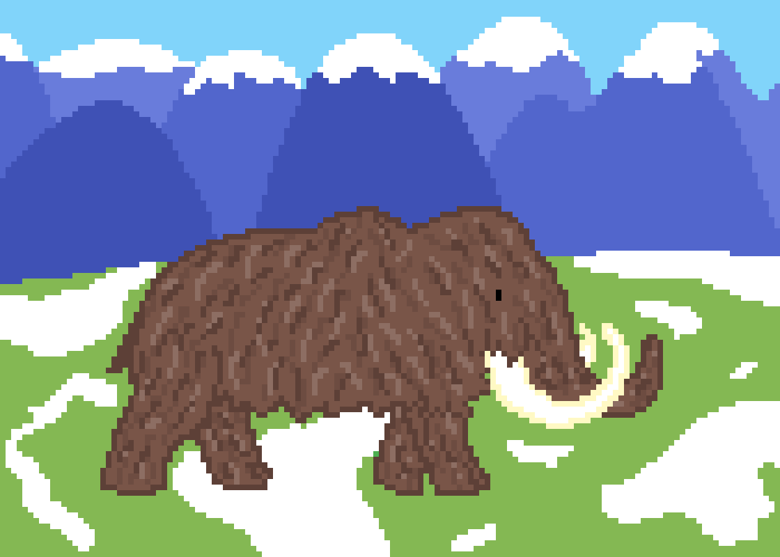 Woolly Mammoth by Floof
