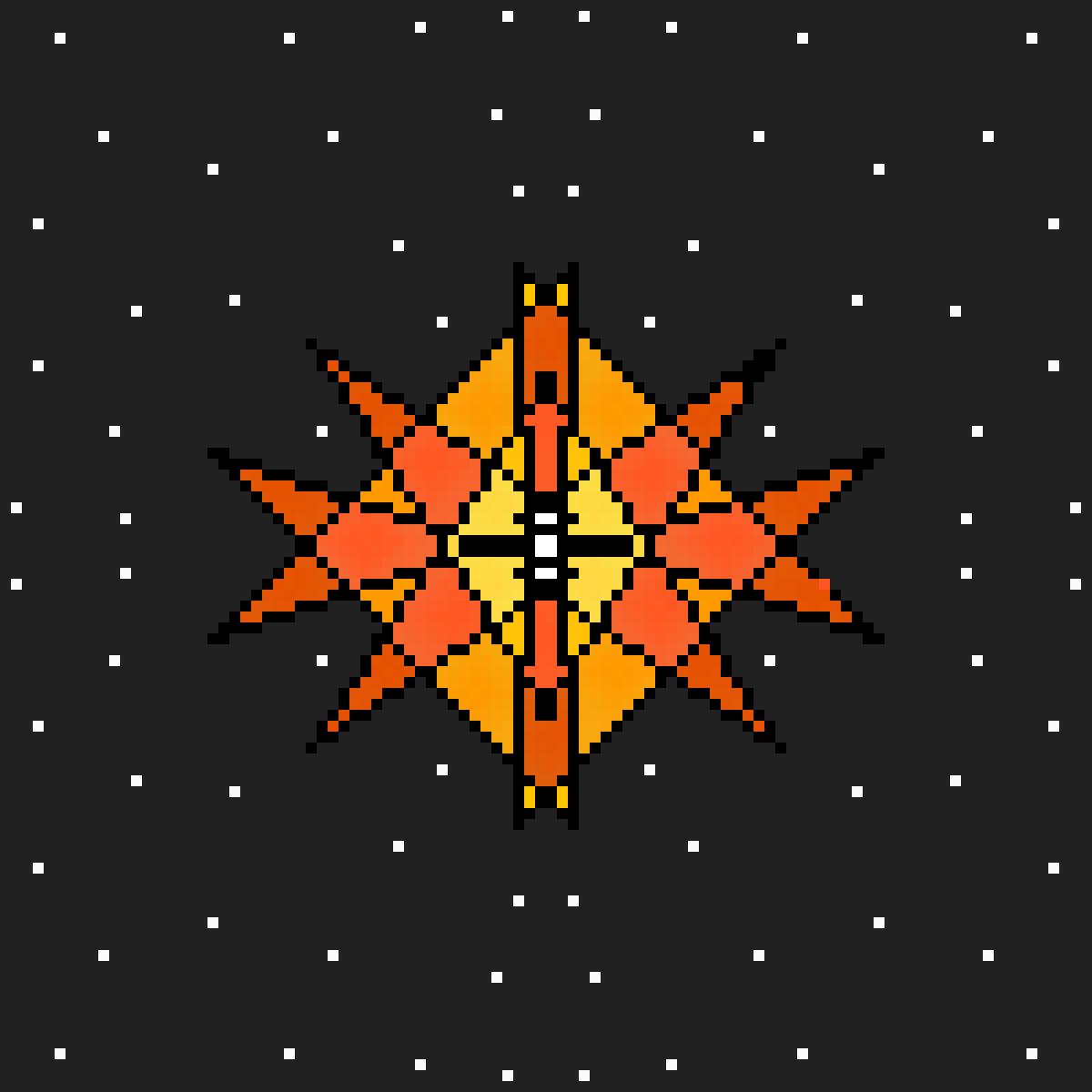 main-image-Star - Mandala #3  by strykerr4