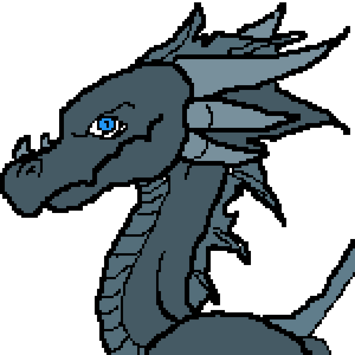 Blu Dragon by Babaj