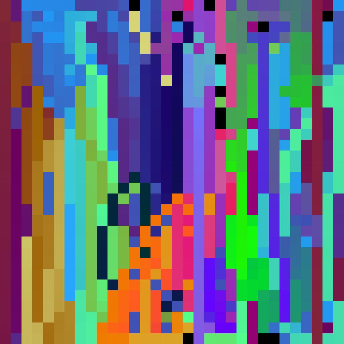 Rainbow pixels ?  by HyperBit